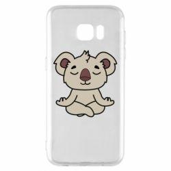 Чехол для Samsung S7 EDGE Koala