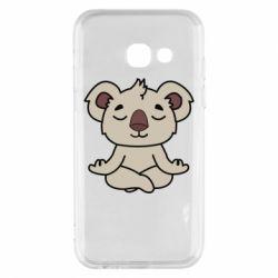 Чехол для Samsung A3 2017 Koala