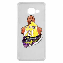Чехол для Samsung A3 2016 Kobe Bryant and sneakers