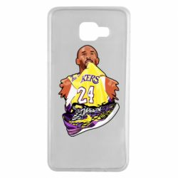 Чехол для Samsung A7 2016 Kobe Bryant and sneakers