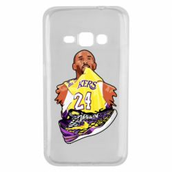 Чехол для Samsung J1 2016 Kobe Bryant and sneakers