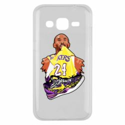 Чехол для Samsung J2 2015 Kobe Bryant and sneakers