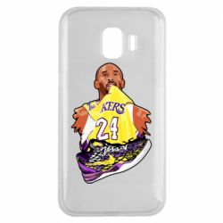 Чехол для Samsung J2 2018 Kobe Bryant and sneakers