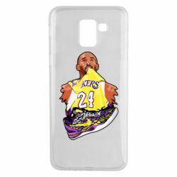 Чехол для Samsung J6 Kobe Bryant and sneakers