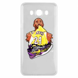 Чехол для Samsung J7 2016 Kobe Bryant and sneakers