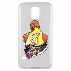 Чехол для Samsung S5 Kobe Bryant and sneakers