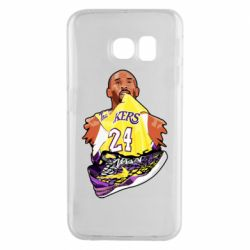Чехол для Samsung S6 EDGE Kobe Bryant and sneakers