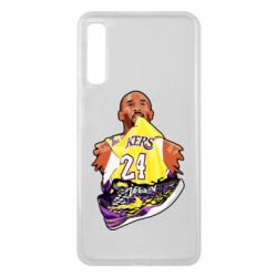 Чехол для Samsung A7 2018 Kobe Bryant and sneakers