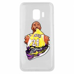 Чехол для Samsung J2 Core Kobe Bryant and sneakers