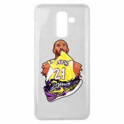 Чехол для Samsung J8 2018 Kobe Bryant and sneakers