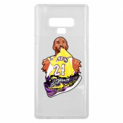Чехол для Samsung Note 9 Kobe Bryant and sneakers