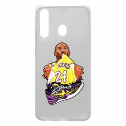 Чехол для Samsung A60 Kobe Bryant and sneakers