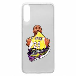 Чехол для Samsung A70 Kobe Bryant and sneakers