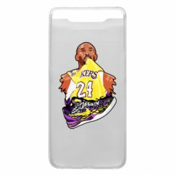 Чехол для Samsung A80 Kobe Bryant and sneakers
