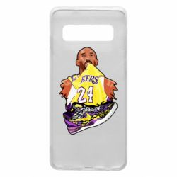 Чехол для Samsung S10 Kobe Bryant and sneakers