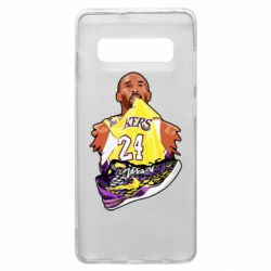 Чехол для Samsung S10+ Kobe Bryant and sneakers