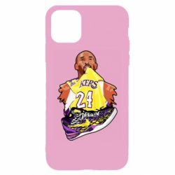 Чехол для iPhone 11 Kobe Bryant and sneakers