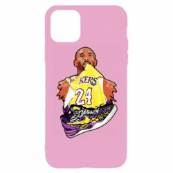 Чехол для iPhone 11 Pro Kobe Bryant and sneakers