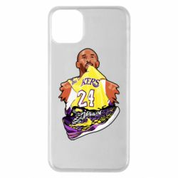 Чехол для iPhone 11 Pro Max Kobe Bryant and sneakers