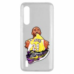 Чехол для Xiaomi Mi9 Lite Kobe Bryant and sneakers