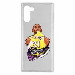 Чехол для Samsung Note 10 Kobe Bryant and sneakers
