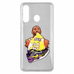 Чехол для Samsung M40 Kobe Bryant and sneakers