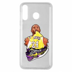 Чехол для Samsung M30 Kobe Bryant and sneakers
