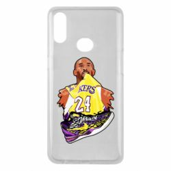 Чехол для Samsung A10s Kobe Bryant and sneakers