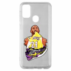 Чехол для Samsung M30s Kobe Bryant and sneakers