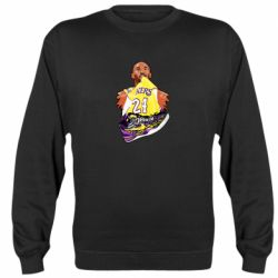 Реглан (свитшот) Kobe Bryant and sneakers