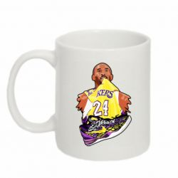 Кружка 320ml Kobe Bryant and sneakers