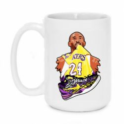 Кружка 420ml Kobe Bryant and sneakers