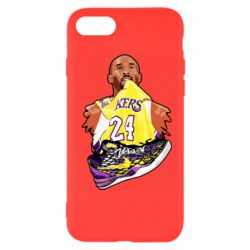 Чехол для iPhone 7 Kobe Bryant and sneakers