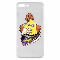 Чехол для iPhone 7 Plus Kobe Bryant and sneakers