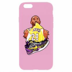 Чехол для iPhone 6/6S Kobe Bryant and sneakers