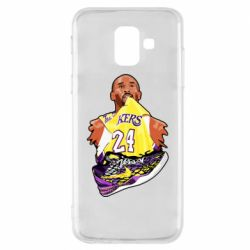 Чехол для Samsung A6 2018 Kobe Bryant and sneakers