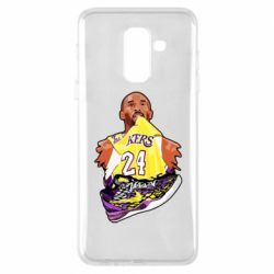 Чехол для Samsung A6+ 2018 Kobe Bryant and sneakers