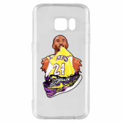 Чехол для Samsung S7 Kobe Bryant and sneakers