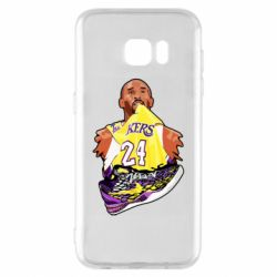 Чехол для Samsung S7 EDGE Kobe Bryant and sneakers