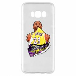 Чехол для Samsung S8 Kobe Bryant and sneakers