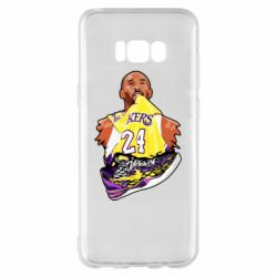 Чехол для Samsung S8+ Kobe Bryant and sneakers