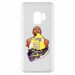 Чехол для Samsung S9 Kobe Bryant and sneakers