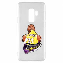 Чехол для Samsung S9+ Kobe Bryant and sneakers