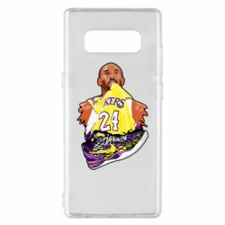 Чехол для Samsung Note 8 Kobe Bryant and sneakers