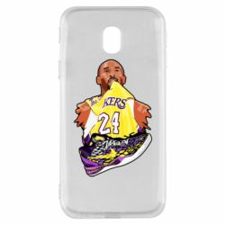 Чехол для Samsung J3 2017 Kobe Bryant and sneakers