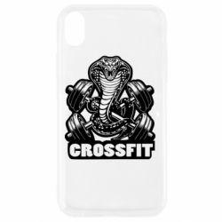 Чохол для iPhone XR Кобра CrossFit