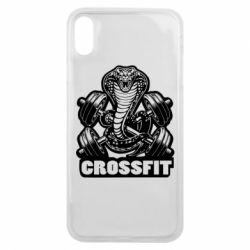 Чохол для iPhone Xs Max Кобра CrossFit