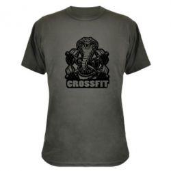Камуфляжна футболка Кобра CrossFit