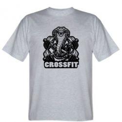 Мужская футболка Кобра CrossFit - FatLine
