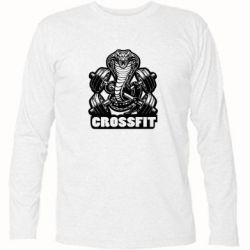 Футболка с длинным рукавом Кобра CrossFit - FatLine